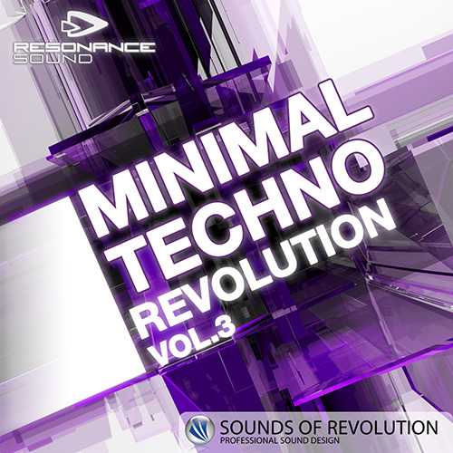 Sounds of Revolution Sample Pack with over 1,4 GB minimal techno producer