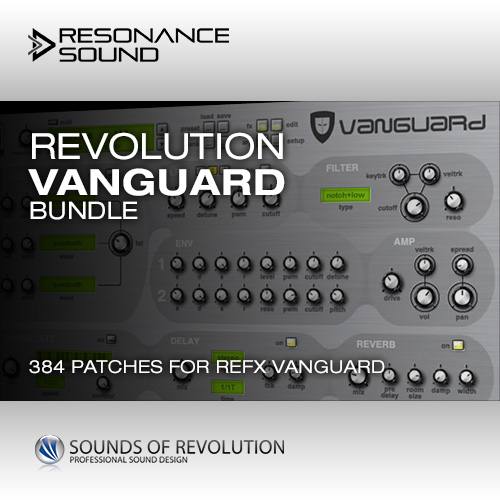 presets for refx vanguard synthesizer