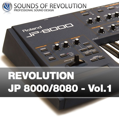 Roland Synthesizer JP 8000 JP 8080 Soundset