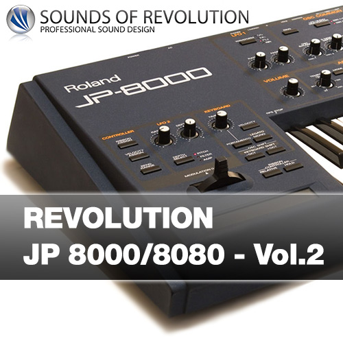 Roland Synthesizer JP 8000 JP 8080 Patches