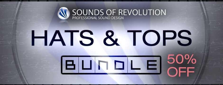 Sounds of Revolution - Hats+ and Tops BUNDLE