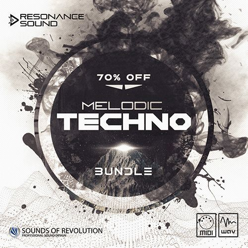bundle with techno loops and samples